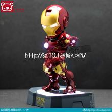 Iron man iron man 2 q edition doll Egg Attack MARK MK42 do toy doll hand model(China (Mainland))