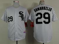 2015 New Chicago White Sox Jerseys Baseball Jersey Embroidery Mix Orders #29 Jeff Samardzija White jersey1469