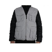 Good Quality Waterproof Fishing Vest Outdoor Casual Multi-Pocket Waistcoat  Film Vest Lightweight 220g