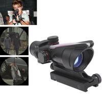 HD-2C Trijicon ACOG TA31RCO-A4 Riflescope Aiming Rule Sight Telescope with Gun Mount & Cloth