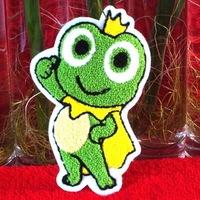 wholesale lot  Cartoon princess Frog  patch DIY  sewing craft    19x12cm