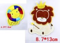 Wholesale   bulk lot Lion Crown  King  Patch DIY SEWING CRAFT   8.7x13cm