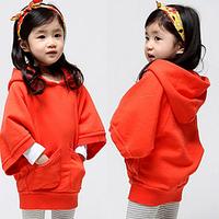 2015 spring fall batwing sleeve girls clothing children casual sweatshirt hoody girls
