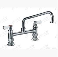 Copper hot and cold faucet mixing faucet vegetables basin swing commercial sooktops 9813-12 9813-P3 9813-009DJ