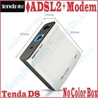 Tenda D8 High Speed DSL Internet Modem ADSL 2+ Wired Router ADSL Broadband Modem, No Color Package Box