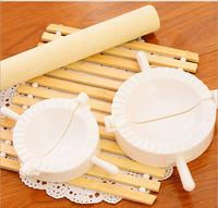 Free shipping Creative kitchen gadgets Pack dumpling machine tool plastic Dough Press Dumpling Pie Cooking dumpling maker tool