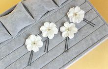 Fashion 3PCS Lot Wedding Bridal Crystal Faux Pearl Flower Hairpin Hair Clip Bridesmaid FJ018