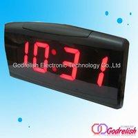 Indoor led alarm desk clock