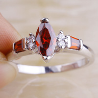2015 New Fashion  Ruby Spinel 925 Silver Ring Size 10 Saucy Women Fashion Jewelry Free Shipping Wholesale