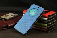 Fundas For ZENFONE 5 CASE View circle Window Flip Leather Back Cover Case capa For ASUS ZenFone 5