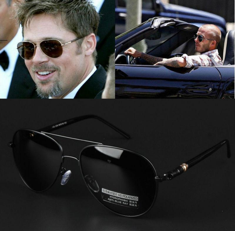 New Men Driving Aviator Polarized Sunglasses Mirror Goggles Outdoor Sports Eyewear Casual Glasses 209(China (Mainland))