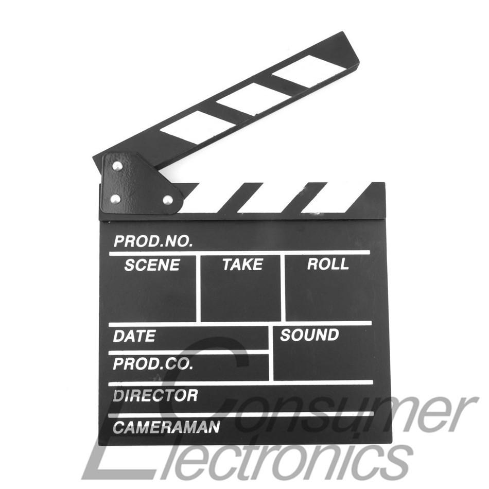 1pc Director Video Scene Clapperboard TV Movie Clapper Board Film Cut Prop Newest(China (Mainland))
