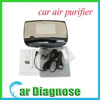 New Portable Mini Car Air Purifier Ozone Generator Air Cleaner Oxygen Bar Ionizer SKD-016 Free Shipping