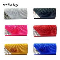 2015 New Fashion Lovely Sweet Women Evening Bags Evening Party Purse Powder Ball Women Clutch .S29E