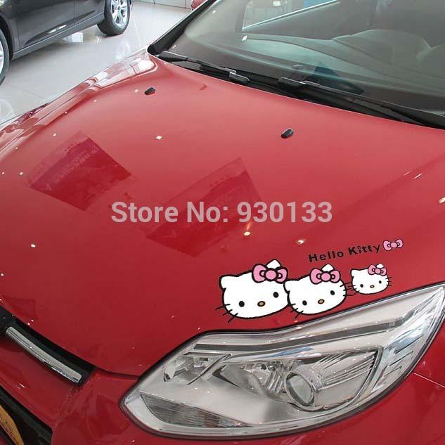 Hello Kitty Car Sticker Malaysia Hello Kitty Cartoon Car