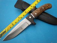 Elk Ridge Figured Wood handle Survival Camping Tool Bowie knives Survival Hunting Knife FK145
