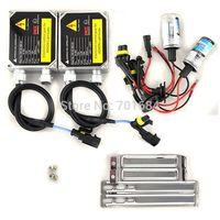 Free shipping Hot New 2 x Hid Xenon Bulbs Ballasts Kit 12V 35W H7R 4300K [ DC25]