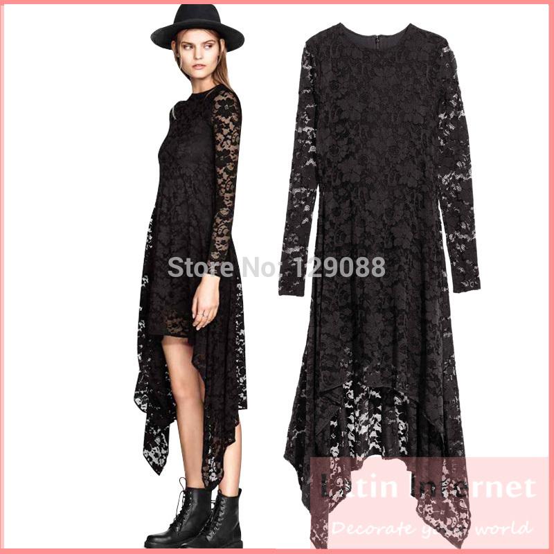Hem Dress Dress Asymmetrical Hem