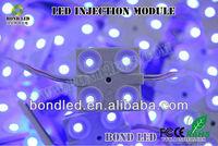 high brightness12V 3 chips 5050 injection led module rgbw