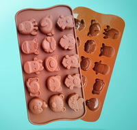 Lovely Animal Eco-Friendly Food-grade Silicone Cake Mold Originality Convenient Fashions Creative Trends Chocolates Cake Tools