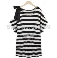 New 2015 Summer European Big Size Women Clothing Casual Short Sleeve Cotton T shirt Tops For Women Plus Size TS011