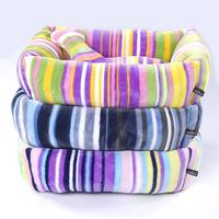 Hotsale Soft  100% cotton  Pet Kennel  Dog Warm Bed House Plush Nest Mat Pad