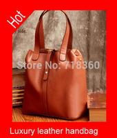2015 New women handbag fashion genuine leather bag portable shoulder bag luxury Pandora women  bag free shipping