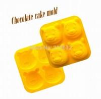 Chocolates Eco-Friendly Food-grade Silicone Cake Mold Originality Convenient Fashions Creative Trends Jelly Pudding Cake Tools