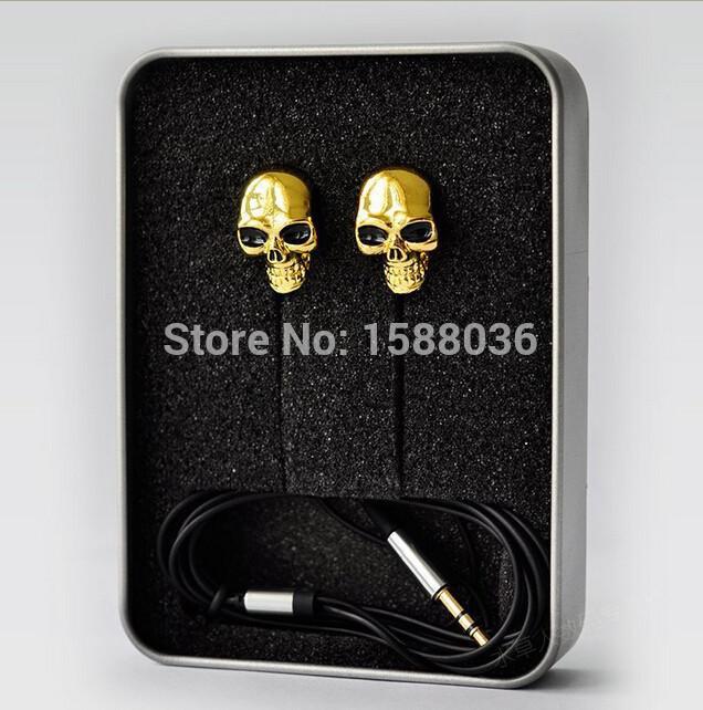 2015 New Hot Sale Fashion 3.5mm Colorful Skull Earpods Earplugs Earphone Headphone Headset For Smart Phones MP3/4 Media Players(China (Mainland))
