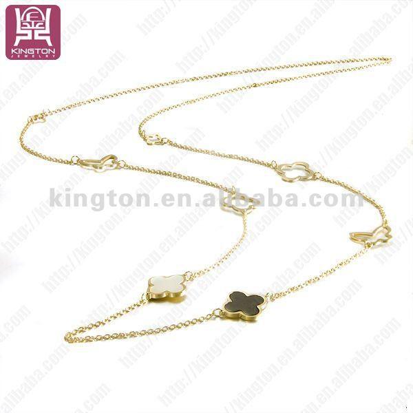 Gold Long Necklace Online Long Gold Necklace Designs