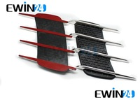 Car Side Air Flow Vent Fender Hole Cover Intake Grille Duct Decor Sticker New free shipping 2set./lot