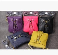 DA350 M New Fashion candy color Lovely Genuine Leather 100% shoulder bag messenger bag wholesale drop shipping free shipping