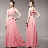 Evening dress 2015 long fashion women formal dresses party evening elegant evening gown vestido de festa longo for prom wedding