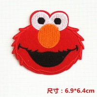 Wholesale   bulk lot red elmo  Patch DIY SEWING CRAFT   6.9x6.4cm