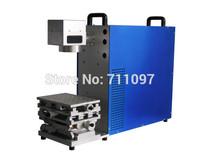 Free shipping TBX-30W Economy desktop Fiber Laser Marking Machine