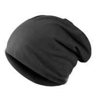 Winter Unisex Solid Color Elastic Hip-hop Cap Beanie Hat Slouch