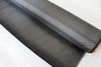 Freeshipping Carbon Fiber 6K 320gsm 2x2 Twill Woven Fabric Black Carbon Yarn Weave Sports Aerospace Car Models Cloth 1m Wide 1m2