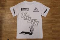 Men's T-Shirt Volts NYC Danger lightening 100% Cotton round Neck Tee Shirt t shirt for men