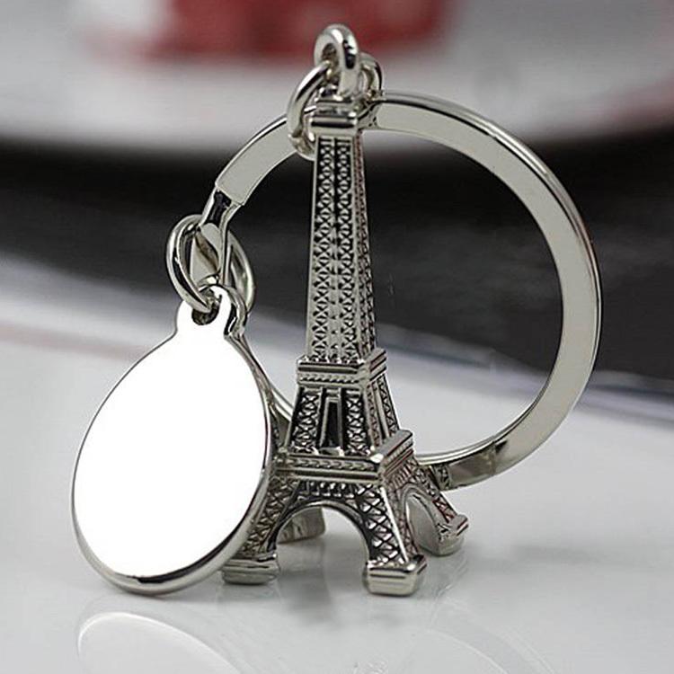 New hot sale Paris Eiffel Tower Keychain Novelty Items Innovative Gadget Trinket Souvenir Christmas Gift Keychain Drop Shipping(China (Mainland))