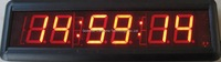 led digital clock with battery
