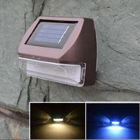 Free Shipping Waterproof Solar Lamp Garden Decorative Lights Fence Light Wall Light