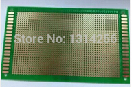 Double sided HASL 6*8CM experimental board / universal board /PCB board fiberglass material thickness of 1.6MM (5 tablets)(China (Mainland))