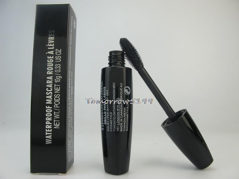 48 pcs / lot NEW professional makeup brand MC mascara 10G WATERPROOF MASCARA 10G LIQUID EYE LINER/BRILLANT 48 PIECE Wholesale(China (Mainland))