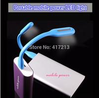 Wholesale portable eye protecting lamp / LED mobile power LED lamp / notebook computer keyboard USB LED lamp Free transport