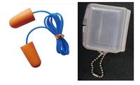 NEW!! Noise protection filter earplugs Corded earplug, PU foam ear plug MANUFACTURER Soft Ear Plugs PU Foam Earplugs with string