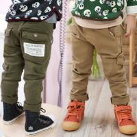 2015 spring autumn winter girls boys pants children's fashion casual pants trousers kids