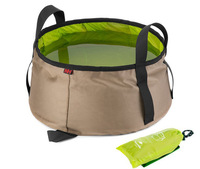 High Quality Folding Foldable 10L Outdoor Camp Washbasin Basin Water Container Off Roading Fishing Travel Expedition Dish Wash