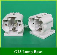 G23 lamp holder / H Tube 11W energy-saving LED horizontal Plug Lamp Socket G23 two needle Plug Light BASE 50PCS