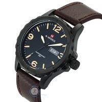 2015 Top Brand NAVIFORCE Hot Fashion Quartz Watches Men Genuine Leather 30M Waterproof Mens Sport Wristwatch Casual Clock Man