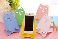Cute owl mobile phone holder cell phone holder wooden bracket bracket phone